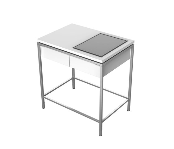 Outdoor Kitchen | Table, 1 drawer, 1 cutout by Viteo | Outdoor kitchens