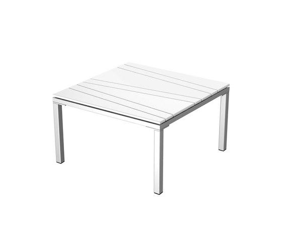 Bandoline Collection Lounge | Lounge Table 69/69 de Viteo | Tables basses de jardin