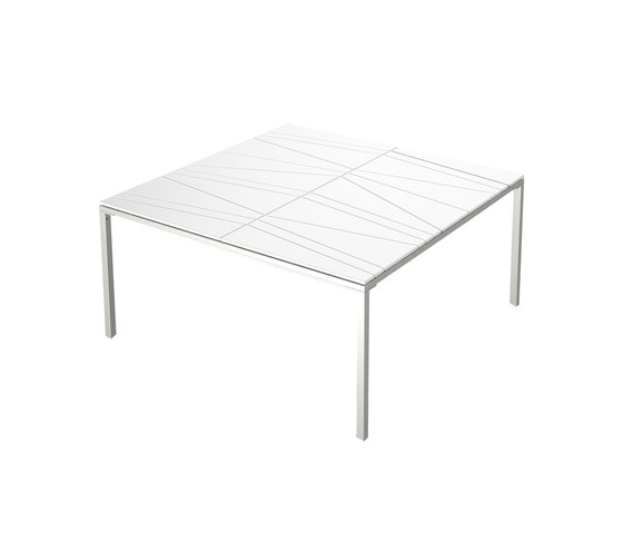 Bandoline Lounge Dining Table de Viteo | Tables à manger de jardin