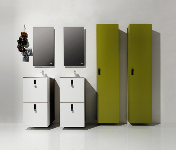 College YAG by Falper | Wall cabinets