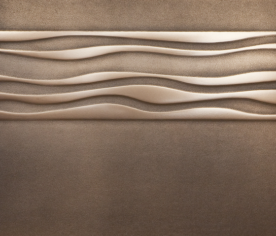 Metallization | frieze of wave 01 by VEROB | Sheets