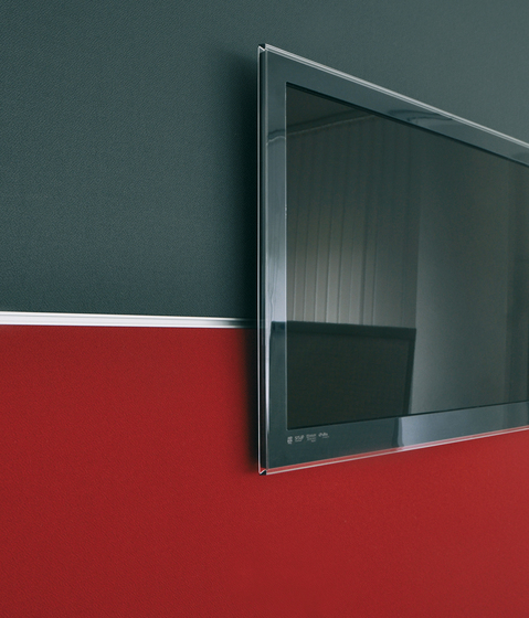 Acoustic elements wall absorber organizable by AOS | Wall panels