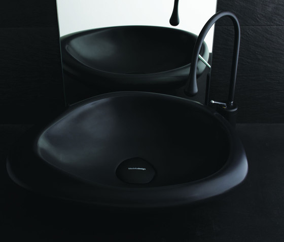 Sasso Nero by Mastella Design | Wash basins
