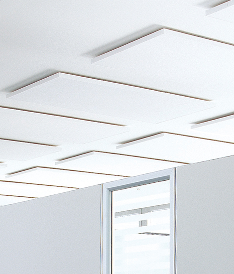 Acoustic elements ceiling absorber di AOS | Sistemi soffitto