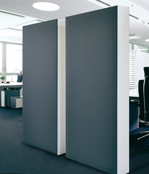Acoustic elements cupboard back absorber by AOS | Wall panels