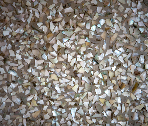Allocation of nacre | nacre chippings large by VEROB | Mother of pearl panels