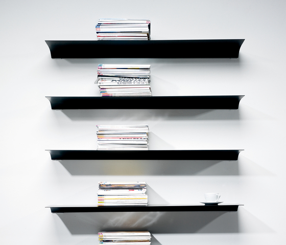 Exilis Wall-Mounted by nonuform | Office shelving systems
