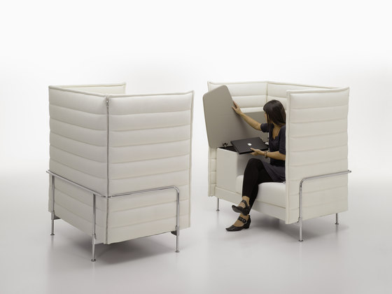 Alcove Highback Work de Vitra | Lounge sièges de travail