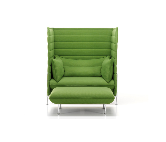 Alcove Highback Love Seat I Ottoman by Vitra | Lounge chairs