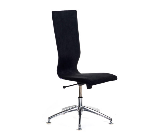 Graf high back, five star base by EFG | Conference chairs
