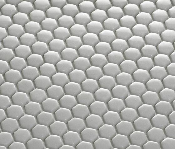 Hexagon Mosaic by EX.T | Glass mosaics