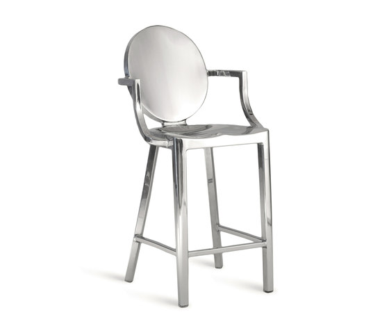 Kong Counter stool with arms by emeco | Bar stools