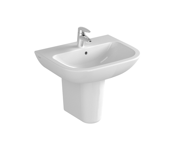 S20 Washbasin, 55 cm by VitrA Bad | Wash basins