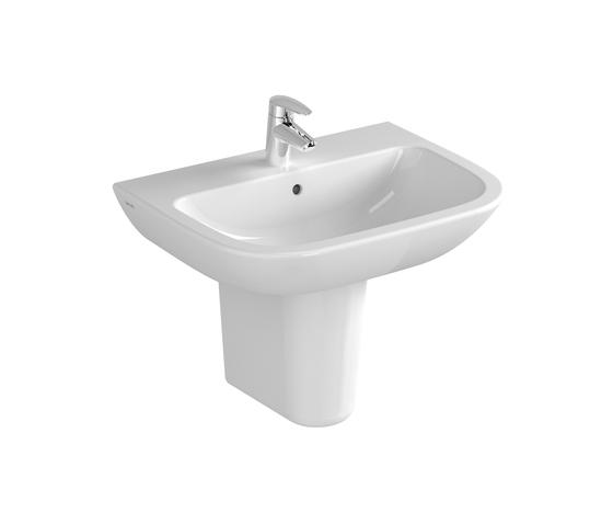 S20 Washbasin, 60 cm by VitrA Bad | Wash basins