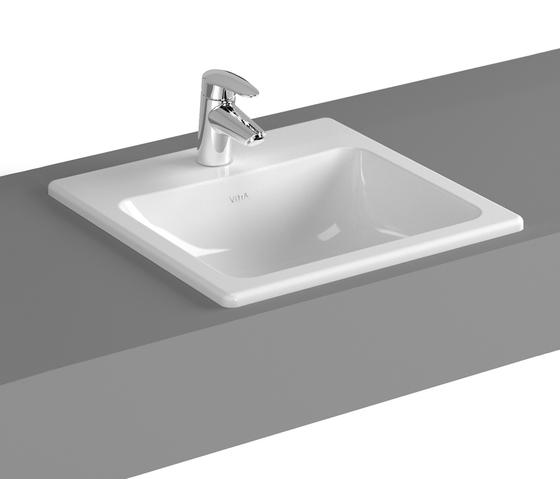 S20 Einbauwaschtisch, 45 cm von VitrA Bad | Waschtische