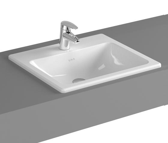 S20 Countertop basin, 50 cm di VitrA Bad | Lavabi / Lavandini