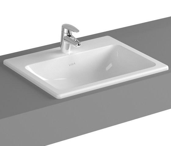 S20 Countertop basin, 55 cm by VitrA Bad | Wash basins