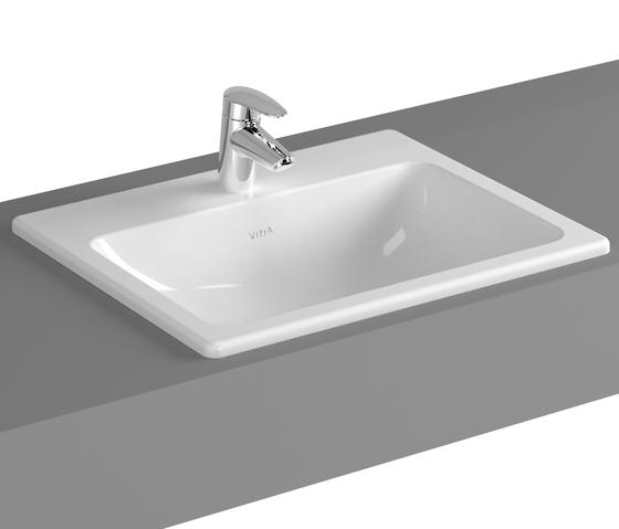 S20 Countertop basin, 55 cm de VitrA Bad | Lavabos
