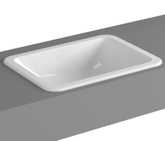 S20 Countertop basin, 50 cm de VitrA Bad | Lavabos