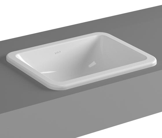 S20 Countertop basin, 45 cm de VitrA Bad | Lavabos