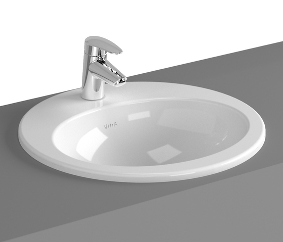 S20 Countertop basin, 48 cm, round by VitrA Bad | Wash basins