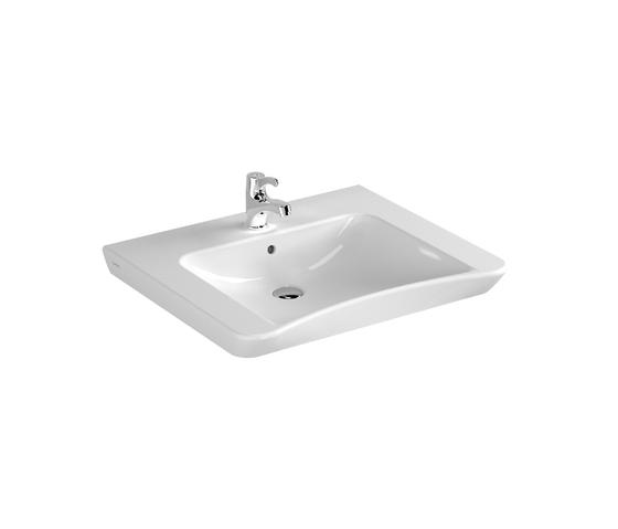 S20 Washbasin, 65 cm by VitrA Bad | Wash basins
