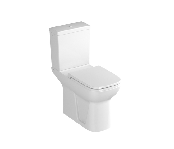 S20 Close couple WC combination, 75 cm de VitrA Bad | Inodoros