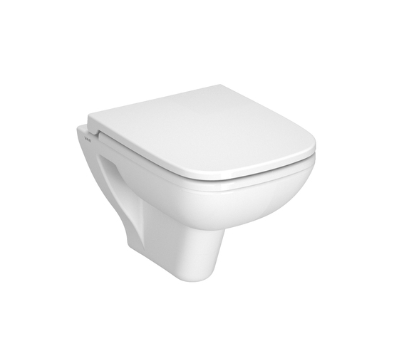 S20 Wall hung WC compact, 48 cm by VitrA Bad | Toilets
