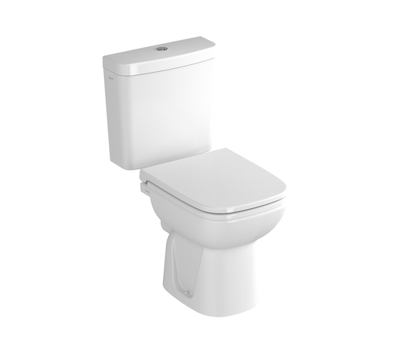 S20 Close couple WC combination, 64 cm di VitrA Bad | Vasi