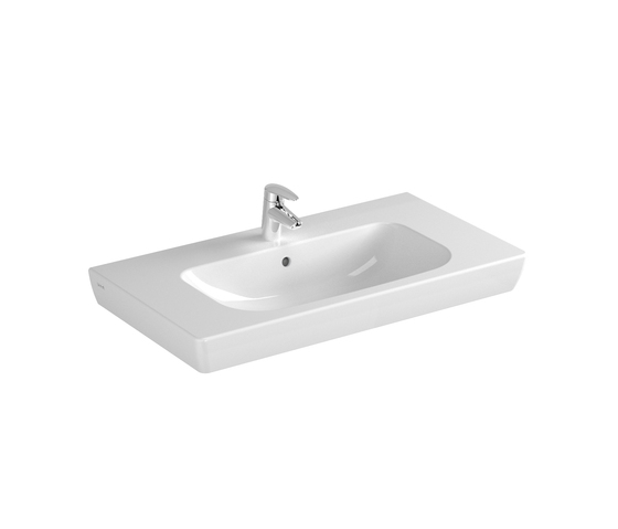 S20 Furniture washbasin, 85 cm by VitrA Bad | Wash basins