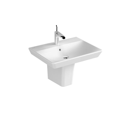 T4 Washbasin, 60 cm de VitrA Bad | Lavabos