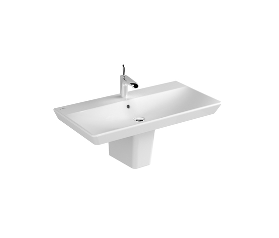 T4 Washbasin, 90 cm de VitrA Bad | Lavabos
