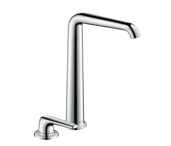 AXOR Bouroullec 2-hole basin mixer 300 for wash bowls without pull rod DN15 by AXOR | Wash-basin taps