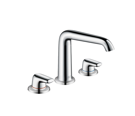 AXOR Bouroullec 3-Hole Basin Mixer 155 with lever handles without pull rod DN15 by AXOR | Wash-basin taps
