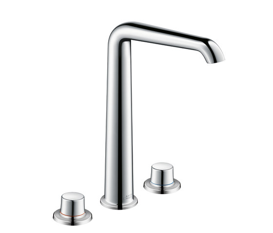AXOR Bouroullec 3-hole basin mixer 300 for wash bowls without pull rod DN15 by AXOR | Wash-basin taps
