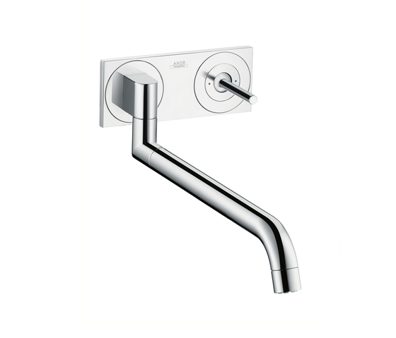 AXOR Uno² Single Lever Kitchen Mixer de AXOR | Robinetterie de cuisine