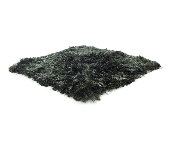 SG Airy Premium Blend dark moss & pure black by kymo | Rugs / Designer rugs