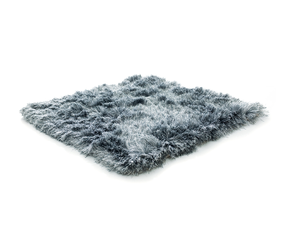 SG Airy Premium Blend solid steel & icey grey by kymo   Rugs / Designer rugs