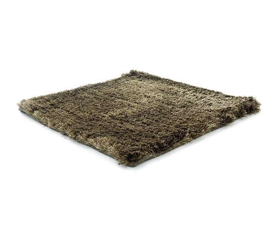SG Airy Premium Blend Low Cut  pitch green & cocoa & beige grey by kymo | Rugs / Designer rugs