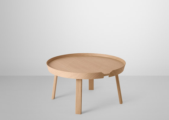 Around Coffee Table | large di Muuto | Tavolini da salotto