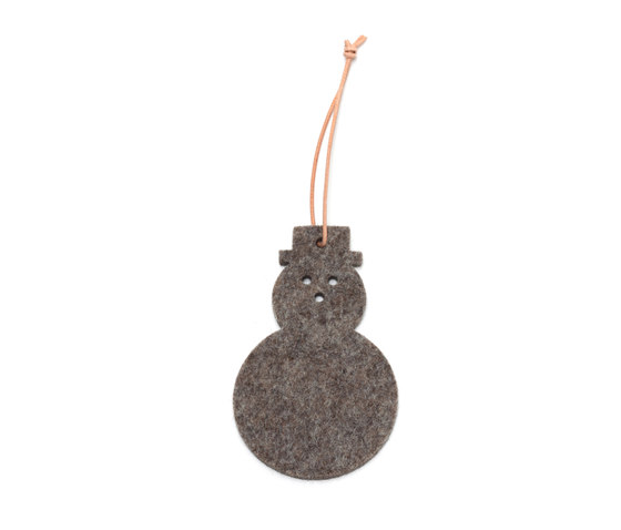 Tag snow man by HEY-SIGN | Christmas decoration