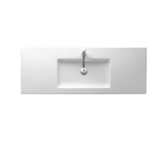 living square | Countertop washbasin by Laufen | Wash basins
