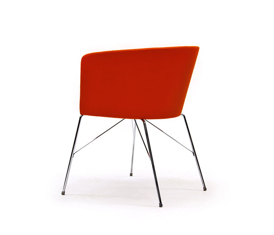 Moon Bold 663 TNS by Capdell | Visitors chairs / Side chairs