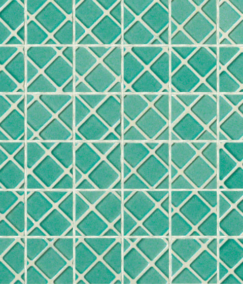 Mosaici d'autore beside acquamarina by Refin | Floor tiles