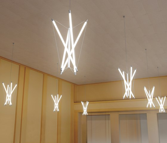 Light Structure T4 chandelier by Archxx | General lighting