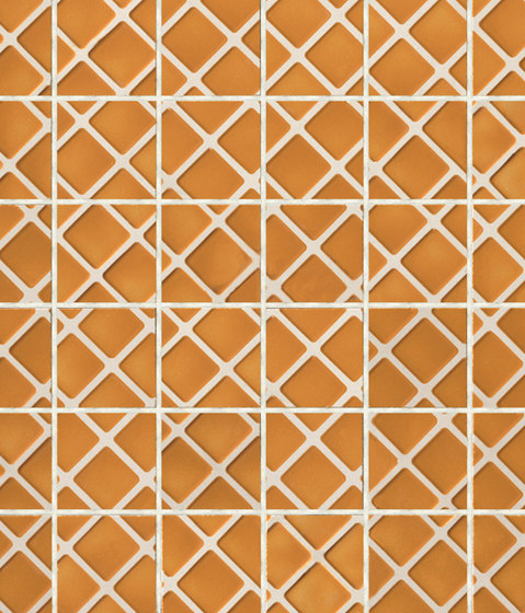 Mosaici d'autore beside arancione by Refin | Floor tiles