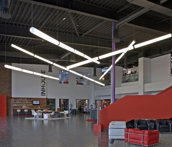 Linear XL Tube by Archxx | Suspended lights