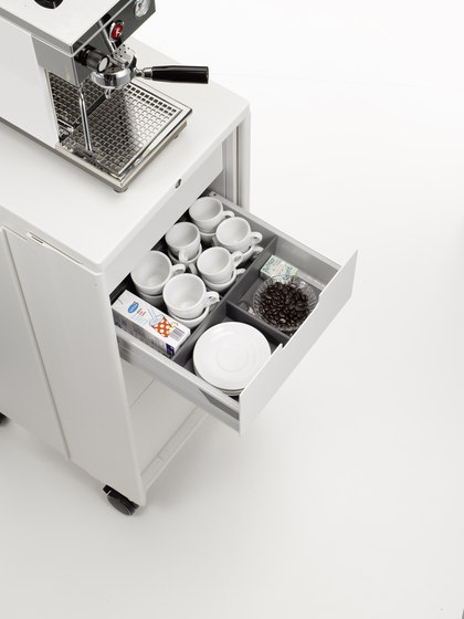 Caddy Catering von Vitra | Service Trolleys / Tische