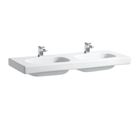 Lb3 | Double countertop washbasin by Laufen | Wash basins