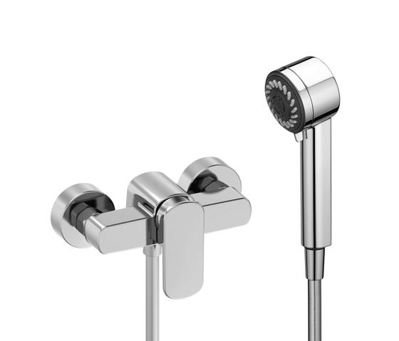 Lb3 | Shower single-lever mixer by Laufen | Shower taps / mixers